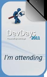 DayDays 2011 I'm attending