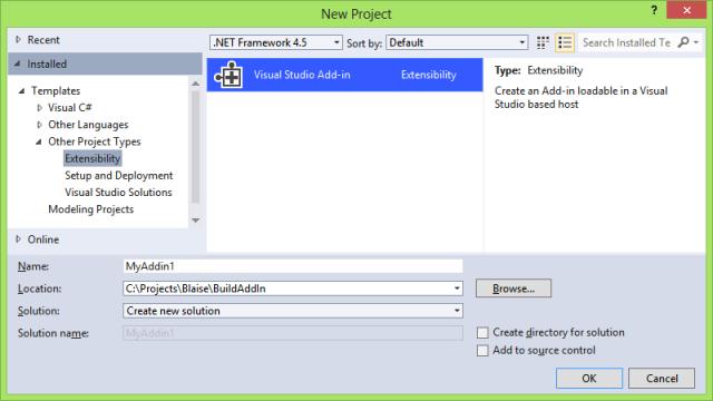 Visual Studio Add-in
