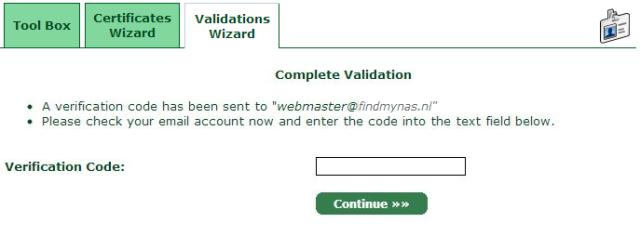 Complete Validation