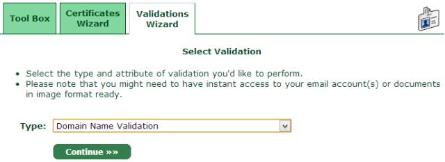 Domain Name Validation