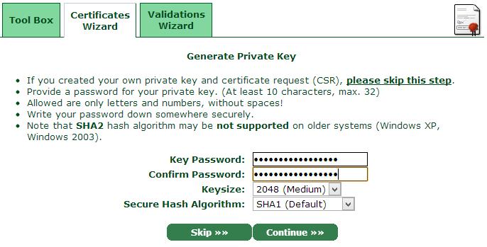 Resolve certificate error for Synology Diskstation part 3 of 4 (6/6)