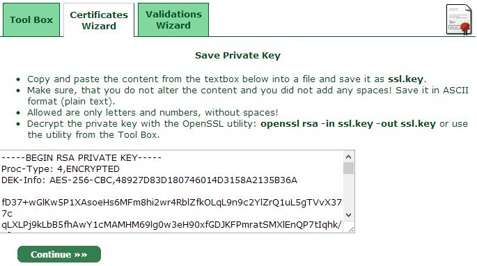 Resolve certificate error for Synology Diskstation part 3 of