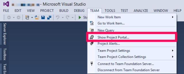 Show project portal