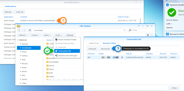 unmount.synology.with.anotation