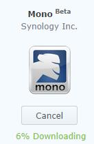 Mono on Synology NAS (1/2)