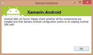 xamarin.android.sdk.missing