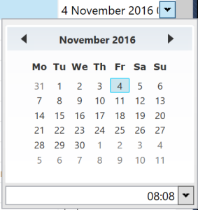 WPF Toolkit DateTimePicker customisation of header |  NET